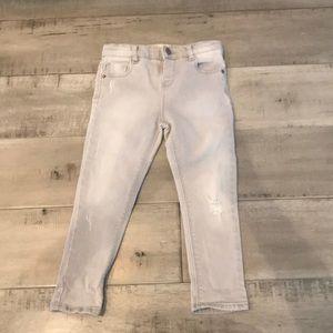 Zara baby denim jeans